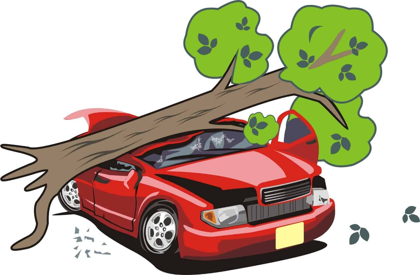 Страховой случай: причинения вреда транспортному средству в результате стихии