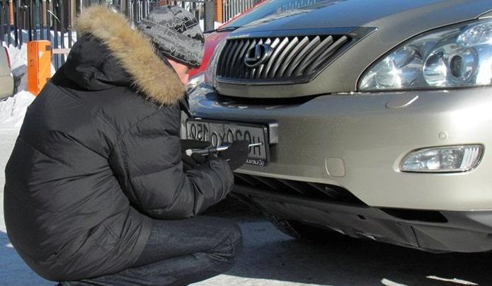 Потеря (кража) номерных знаков транспортного средства: порядок действий