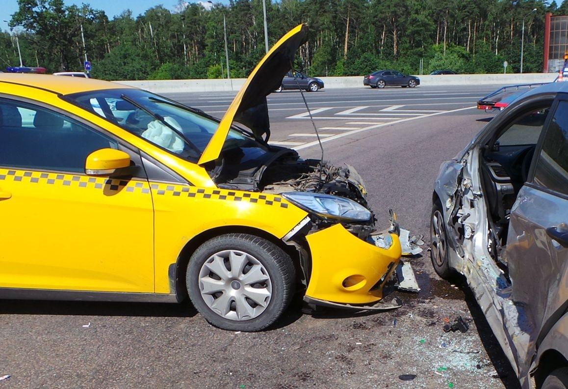 Если попал в аварию на такси